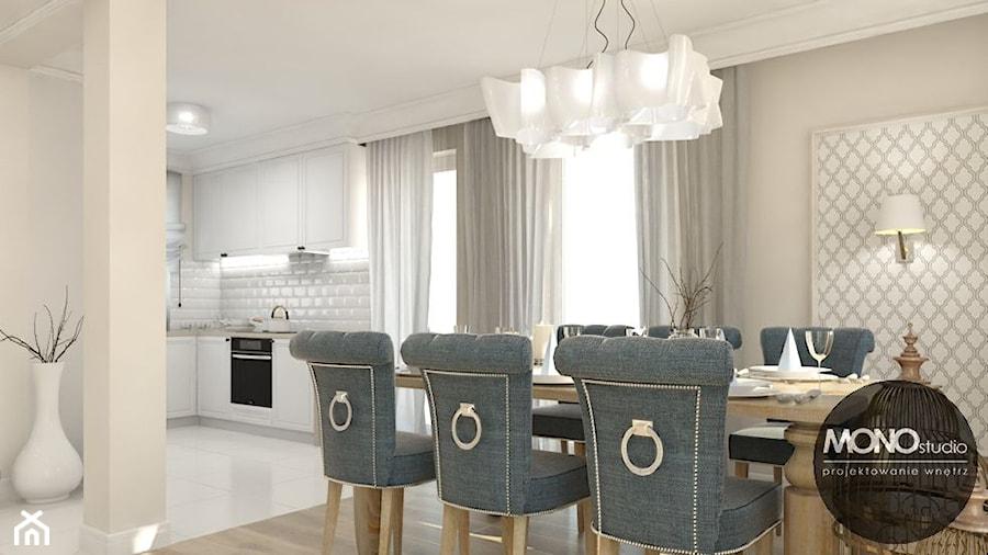 Otwarta Przestrzeń Kuchni Jadalni I Salonu Zdjęcie Od Monostudio