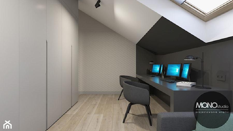 Aranżacje wnętrz - Biuro: MONOstudio - projektowanie wnętrz - MONOstudio. Przeglądaj, dodawaj i zapisuj najlepsze zdjęcia, pomysły i inspiracje designerskie. W bazie mamy już prawie milion fotografii!