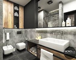 Łazienka w klimacie industrialnym - zdjęcie od MONOstudio - Homebook