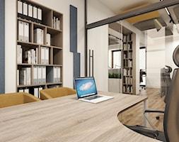 Projekt biura w Krakowie - Wnętrza publiczne - zdjęcie od MONOstudio