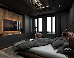 Sypialnia+w+ciemniejszych+barwach+-+zdj%C4%99cie+od+MONOstudio