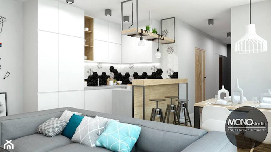 Kuchnia w stylu skandynawskim - zdjęcie od MONOstudio