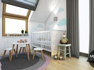 Pokój dziecka w nowoczesnym klimacie - zdjęcie od MONOstudio