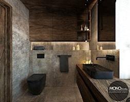 Łazienka w klimacie nowoczesnym - zdjęcie od MONOstudio - Homebook