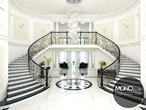 Schody w stylu nowoczesnym - zdjęcie od MONOstudio