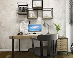 Biuro domowe w skandynawskim klimacie - zdjęcie od MONOstudio