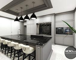 Jasna, elegancka kuchnia w nowoczesnym klimacie - zdjęcie od MONOstudio - Homebook