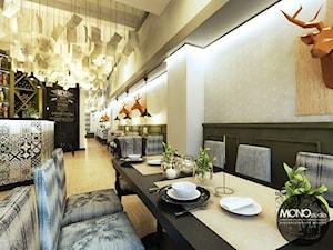 Restauracja w stylu eklektycznym - zdjęcie od MONOstudio