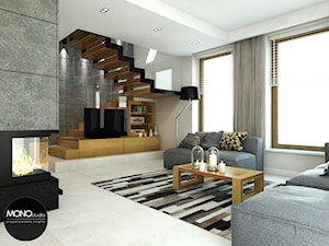 beton & drewno
