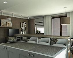 Salon w nowoczesnym klimacie - zdjęcie od MONOstudio
