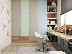 Pokój dziecka w pastelowych barwach - zdjęcie od MONOstudio