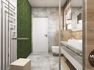 Łazienka z Sauną - Dom w Starym Sączu