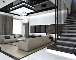 Salon w nowoczesnym stylu - zdjęcie od MONOstudio - Homebook