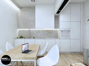 MONOstudio - minimalistyczne mieszkanie