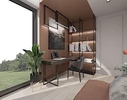 Domowe biuro - Biuro, styl nowoczesny - zdjęcie od MONOstudio - Homebook