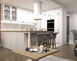 Jasna kuchnia z klimatem stylu vintage - zdjęcie od MONOstudio - Homebook