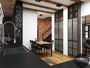 Kuchnia w industrialnym klimacie - zdjęcie od MONOstudio