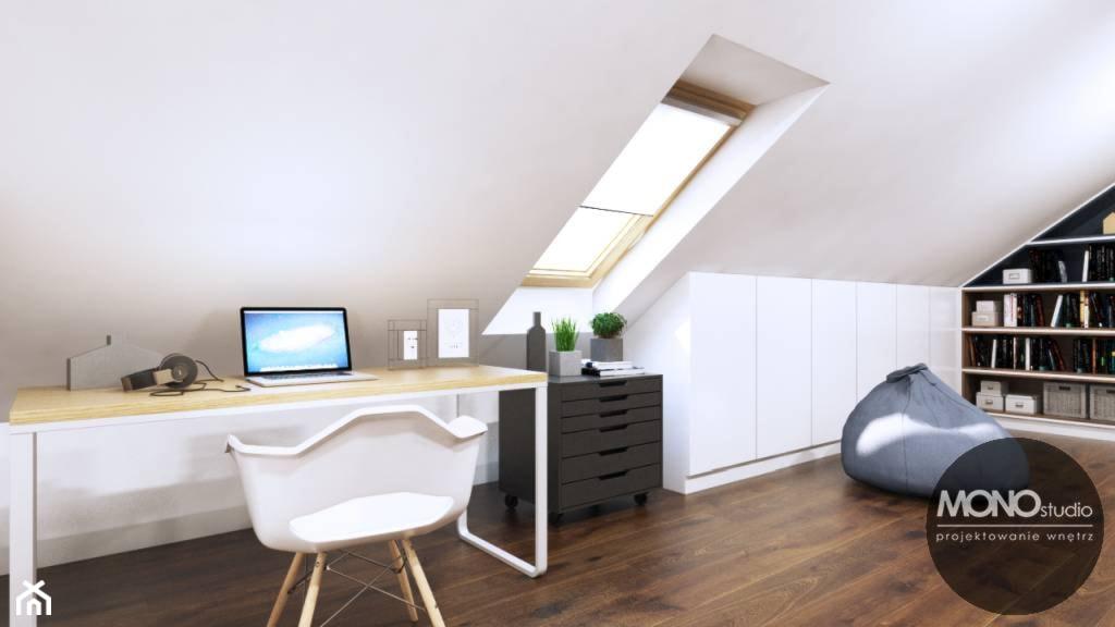 Domowe biuro - zdjęcie od MONOstudio - Homebook