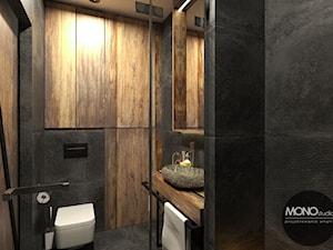Łazienka w stylu industrilanym - zdjęcie od MONOstudio