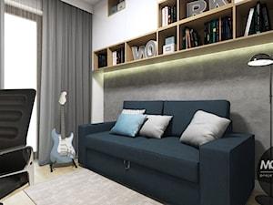 Domowe biuro w nowoczesnym klimacie - zdjęcie od MONOstudio