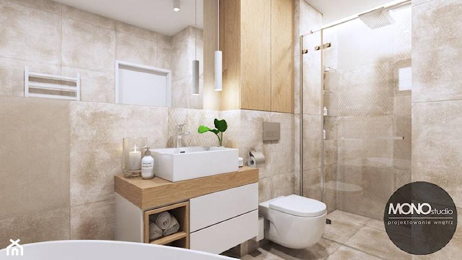 łazienka W Jasnych Kolorach Zdjęcie Od Monostudio Homebook
