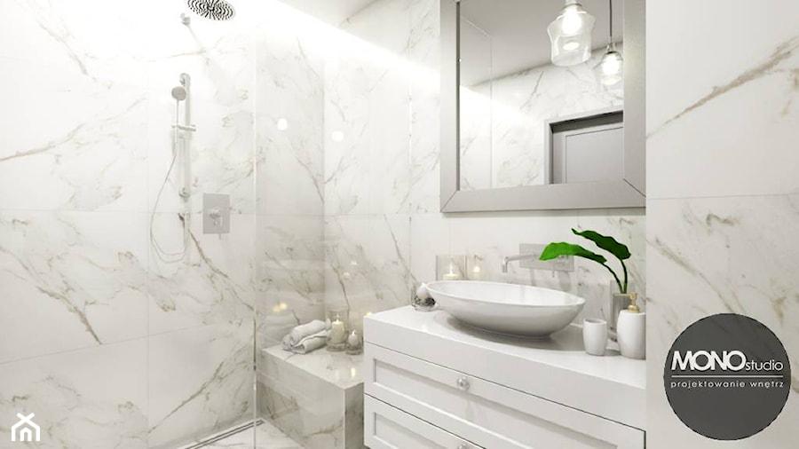 łazienka W Bieli Zdjęcie Od Monostudio Homebook