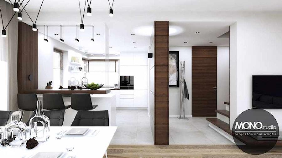 Kuchnia Otwarta Na Salon I Jadalnię Zdjęcie Od Monostudio