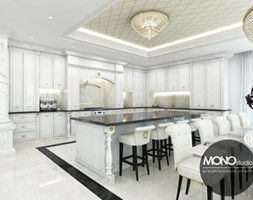 Stylowana kuchnia w nowoczesnym klimacie - zdjęcie od MONOstudio - Homebook