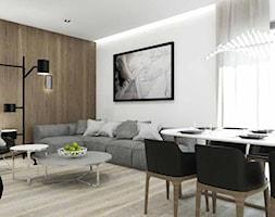 drewno & elegancja - Salon - zdjęcie od MONOstudio - Homebook