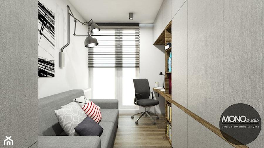 Biuro w industrialnym klimacie - zdjęcie od MONOstudio