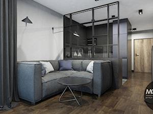 Minimalistyczne mieszkanie w Krakowie