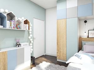 Pastelowa sypialnia dla dziewczynki - zdjęcie od MONOstudio