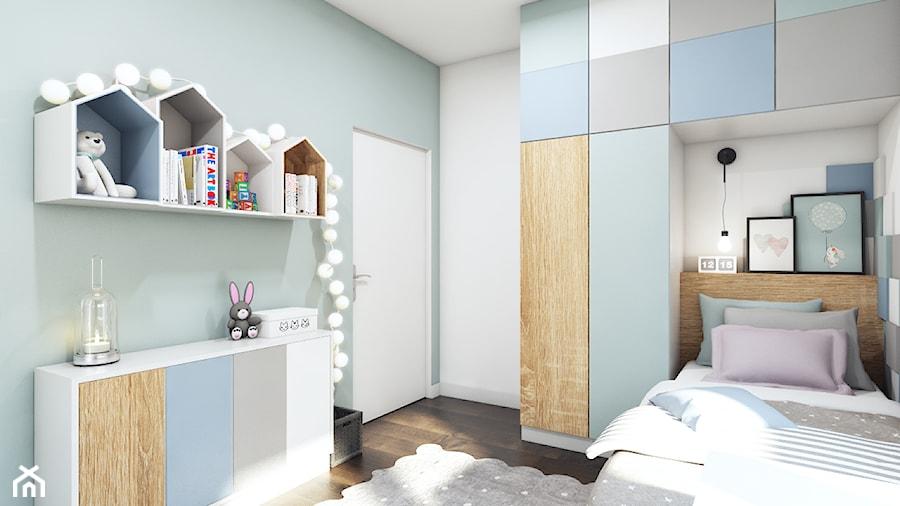 Aranżacje wnętrz - Pokój dziecka: Pastelowa sypialnia dla dziewczynki - MONOstudio. Przeglądaj, dodawaj i zapisuj najlepsze zdjęcia, pomysły i inspiracje designerskie. W bazie mamy już prawie milion fotografii!