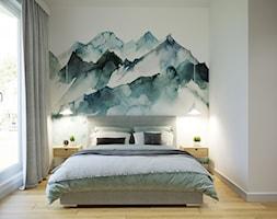Przytulne, przestronne i jasne mieszkanie - Sypialnia, styl nowoczesny - zdjęcie od Idea by Mag. - Homebook