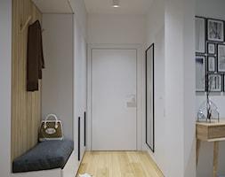 Przytulne, przestronne i jasne mieszkanie - Hol / przedpokój, styl nowoczesny - zdjęcie od Idea by Mag. - Homebook