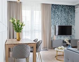 Modern classic - elegancja w nowoczesnym wydaniu - Salon, styl nowoczesny - zdjęcie od Idea by Mag. - Homebook