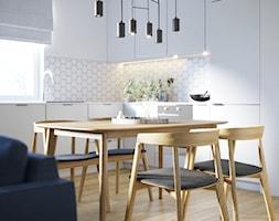 Przytulne, przestronne i jasne mieszkanie - Jadalnia, styl nowoczesny - zdjęcie od Idea by Mag. - Homebook