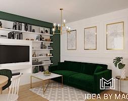 Salon Z Półkami Aranżacje Pomysły Inspiracje Homebook