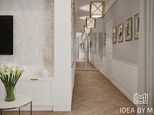Pastelowa elegancja - Hol / przedpokój, styl nowojorski - zdjęcie od Idea by Mag.