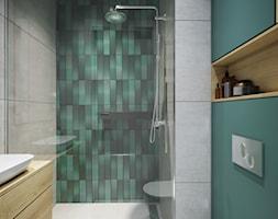 Przytulne, przestronne i jasne mieszkanie - Łazienka, styl nowoczesny - zdjęcie od Idea by Mag. - Homebook
