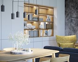 Przytulne, przestronne i jasne mieszkanie - Salon, styl nowoczesny - zdjęcie od Idea by Mag. - Homebook