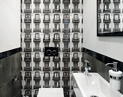 Apartament szary. - Łazienka, styl skandynawski - zdjęcie od DEKA DESIGN - Homebook