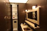 sufit napinany podświetlany w łazience