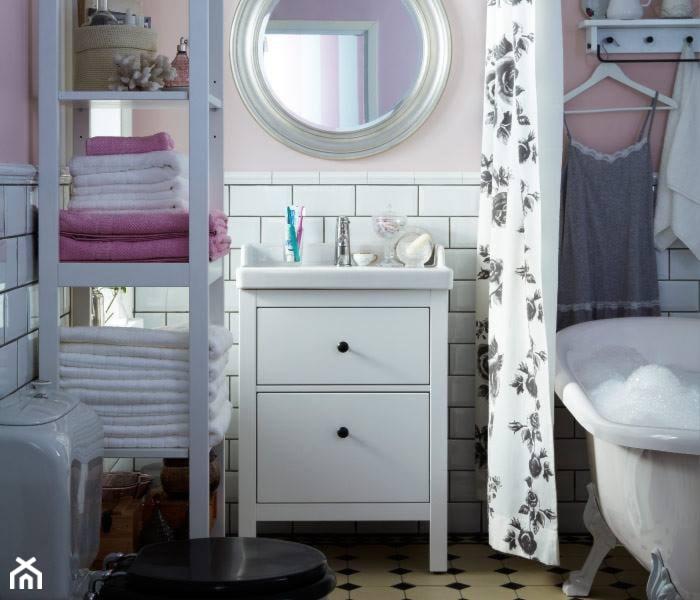 azienka styl skandynawski zdj cie od angelika kozanecka homebook. Black Bedroom Furniture Sets. Home Design Ideas