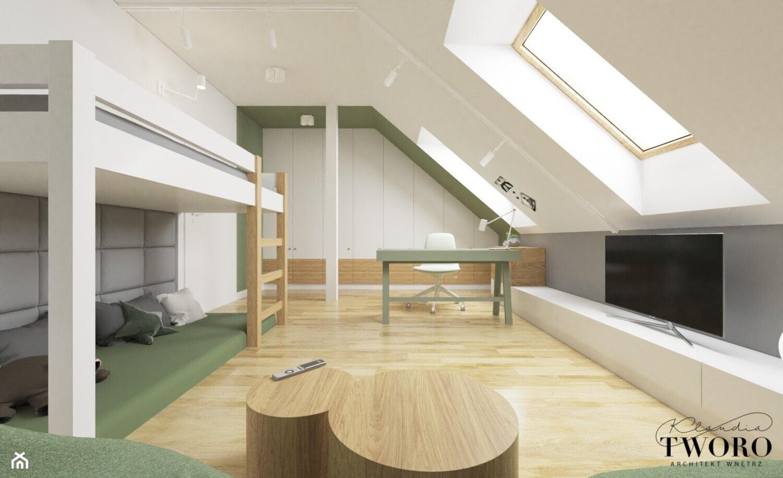 Nowoczesne pokoje dzieci - Pokój dziecka, styl nowoczesny - zdjęcie od Klaudia Tworo Projektowanie Wnętrz - Homebook