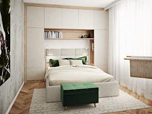 Sypialnia z klepką na podłodze