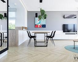 Projekt Domu - Jadalnia, styl nowoczesny - zdjęcie od Klaudia Tworo Projektowanie Wnętrz - Homebook