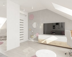 Malinowa pod Poznaniem - Pokój dziecka, styl nowoczesny - zdjęcie od Klaudia Tworo Projektowanie Wnętrz - Homebook