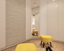 Dom w Łodzi - Średnia zamknięta garderoba oddzielne pomieszczenie, styl nowoczesny - zdjęcie od Klaudia Tworo Projektowanie Wnętrz