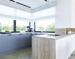 Projekt Domu - Kuchnia, styl nowoczesny - zdjęcie od Klaudia Tworo Projektowanie Wnętrz - Homebook